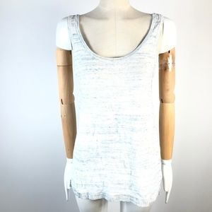 Lole linen blend knitted tank top